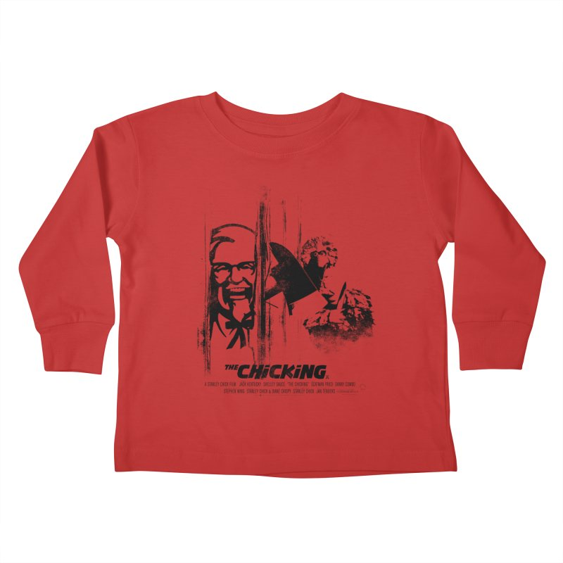 The Chicking Kids Toddler Longsleeve T-Shirt by ouno