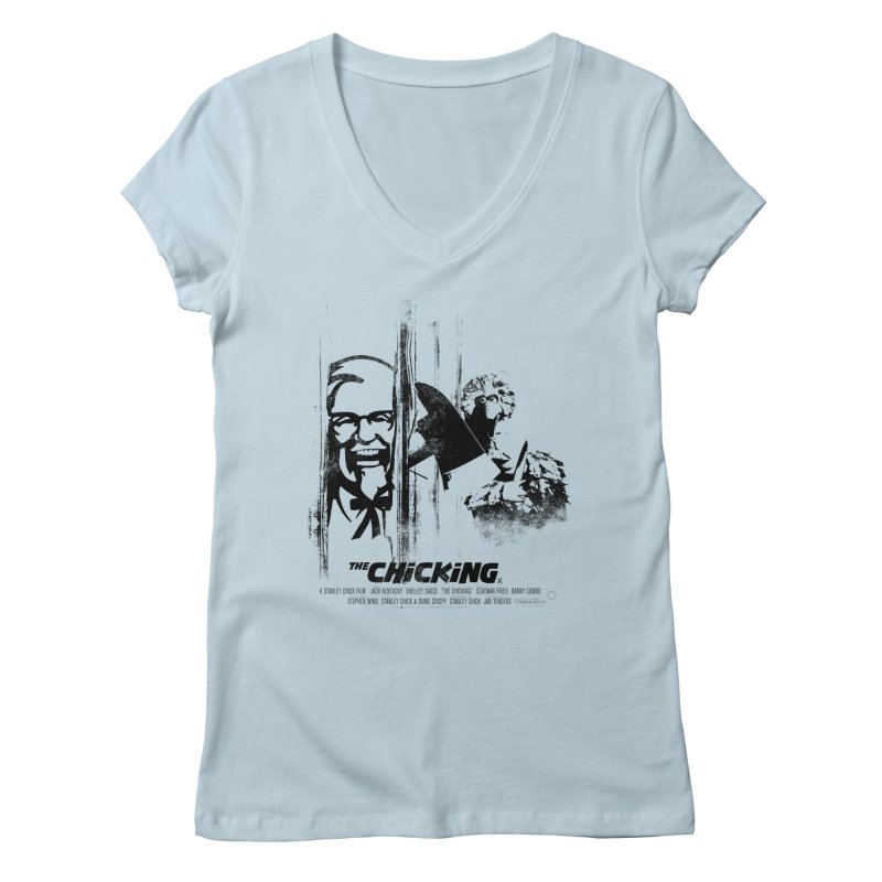 The Chicking Women's V-Neck by ouno