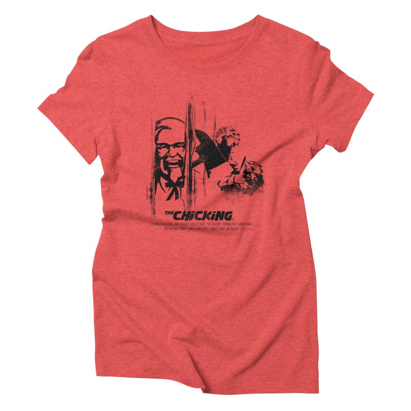 The Chicking Women's Triblend T-shirt by ouno