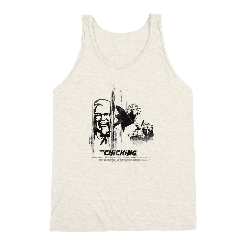 The Chicking Men's Triblend Tank by ouno