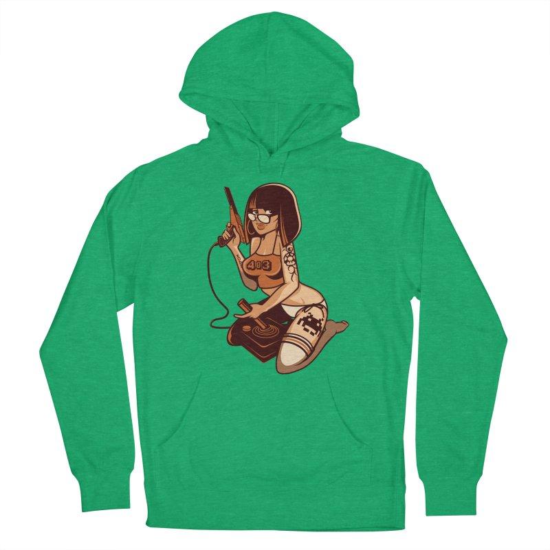 Geek Girl Women's Pullover Hoody by ouno
