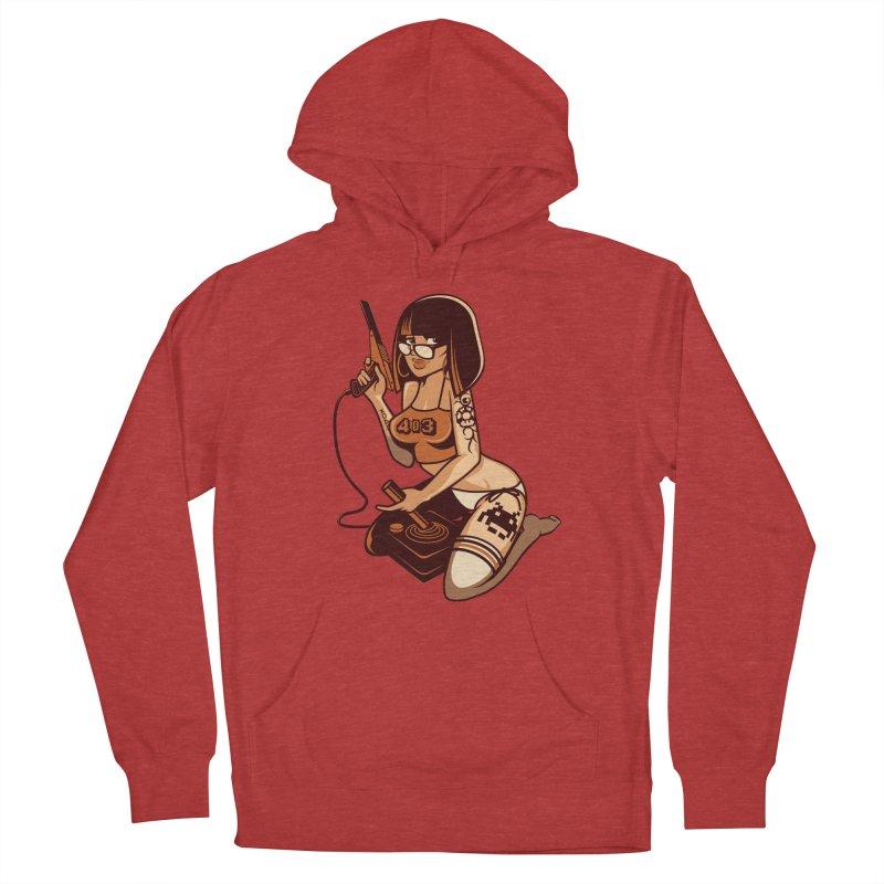 Geek Girl Men's Pullover Hoody by ouno