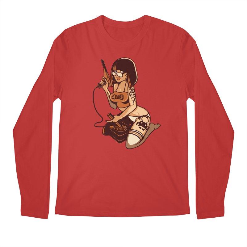 Geek Girl Men's Longsleeve T-Shirt by ouno