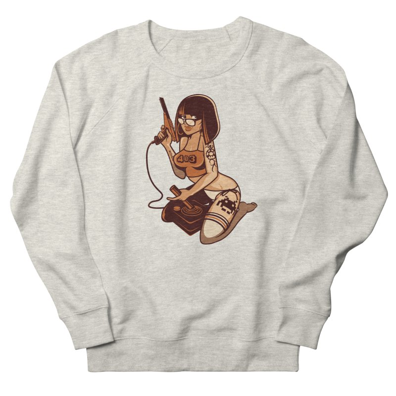 Geek Girl Women's Sweatshirt by ouno
