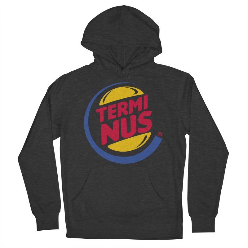 Terminus Burger  Men's Pullover Hoody by ouno