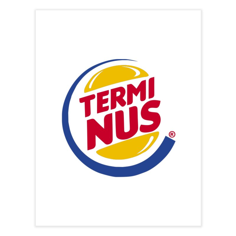 Terminus Burger  Home Fine Art Print by ouno