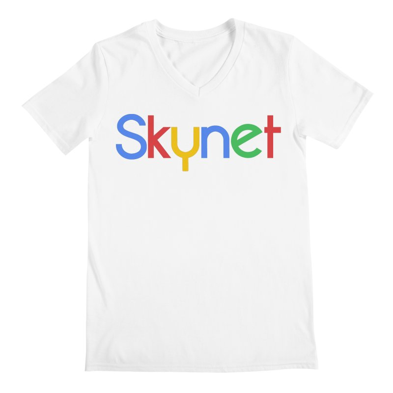 Skynet Men's V-Neck by ouno