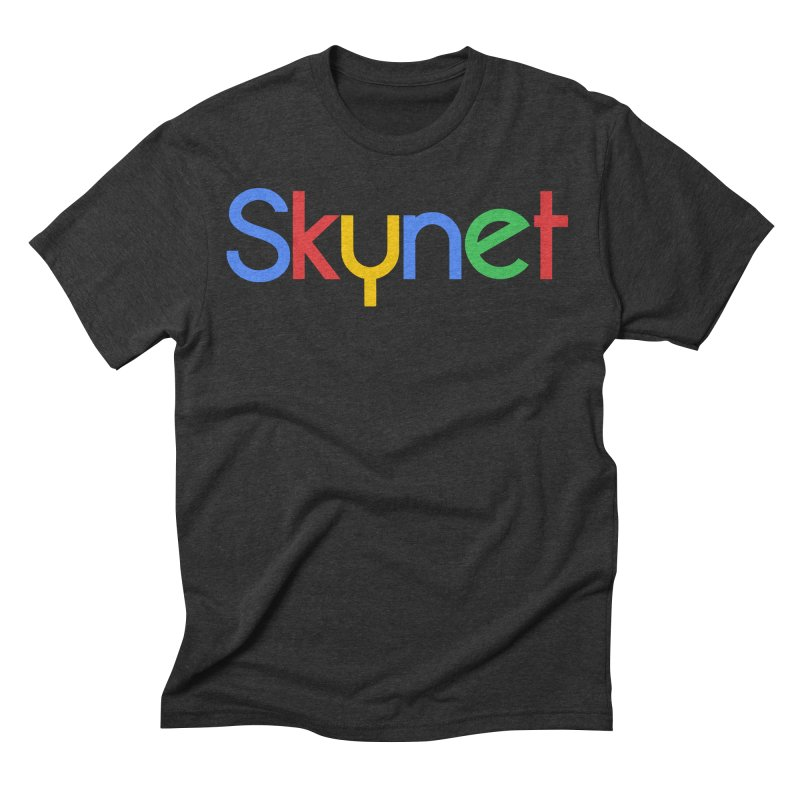 Skynet Men's Triblend T-shirt by ouno