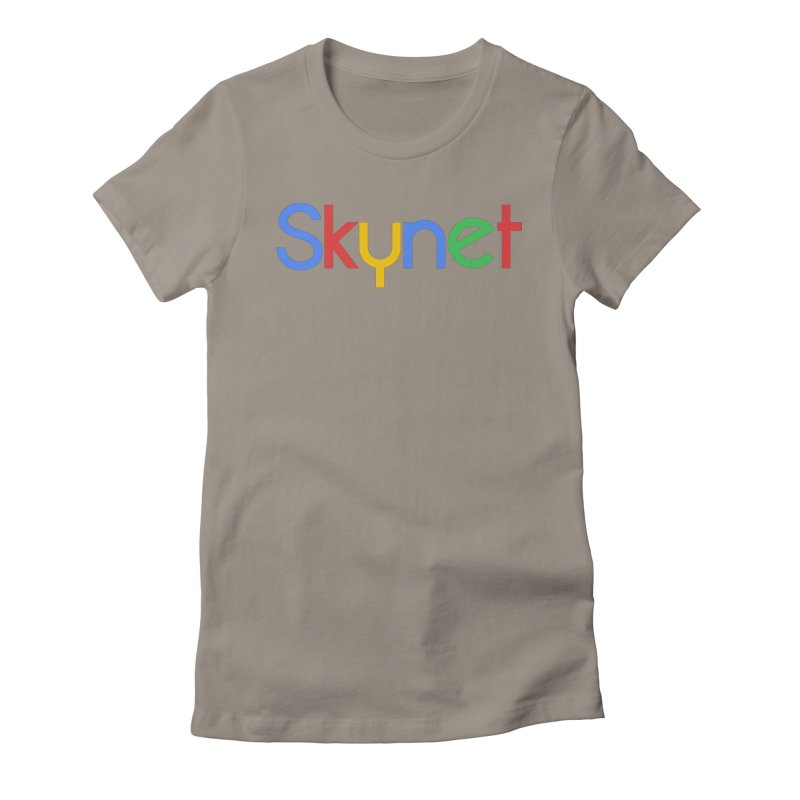 Skynet Women's Fitted T-Shirt by ouno
