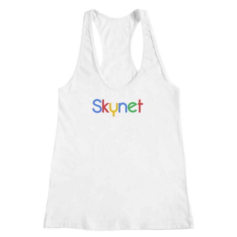 Skynet Women's Racerback Tank by ouno