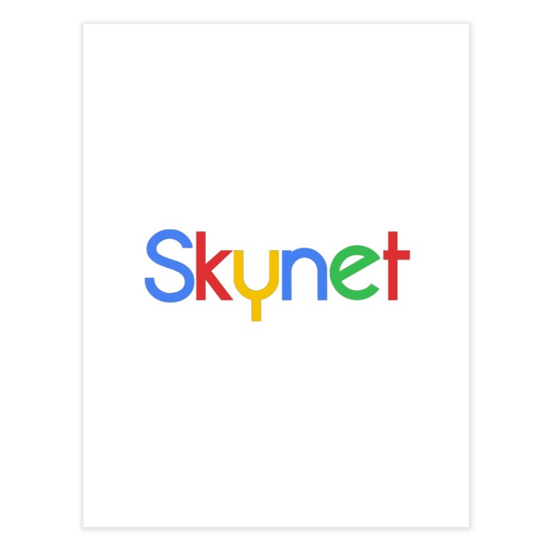 Skynet Home Fine Art Print by ouno