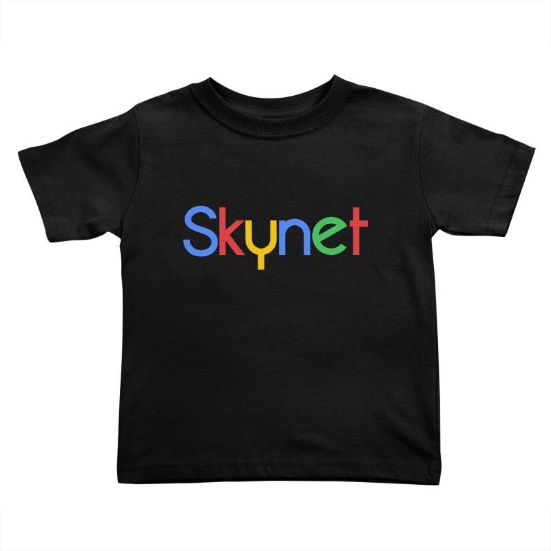 Skynet Kids Toddler T-Shirt by ouno