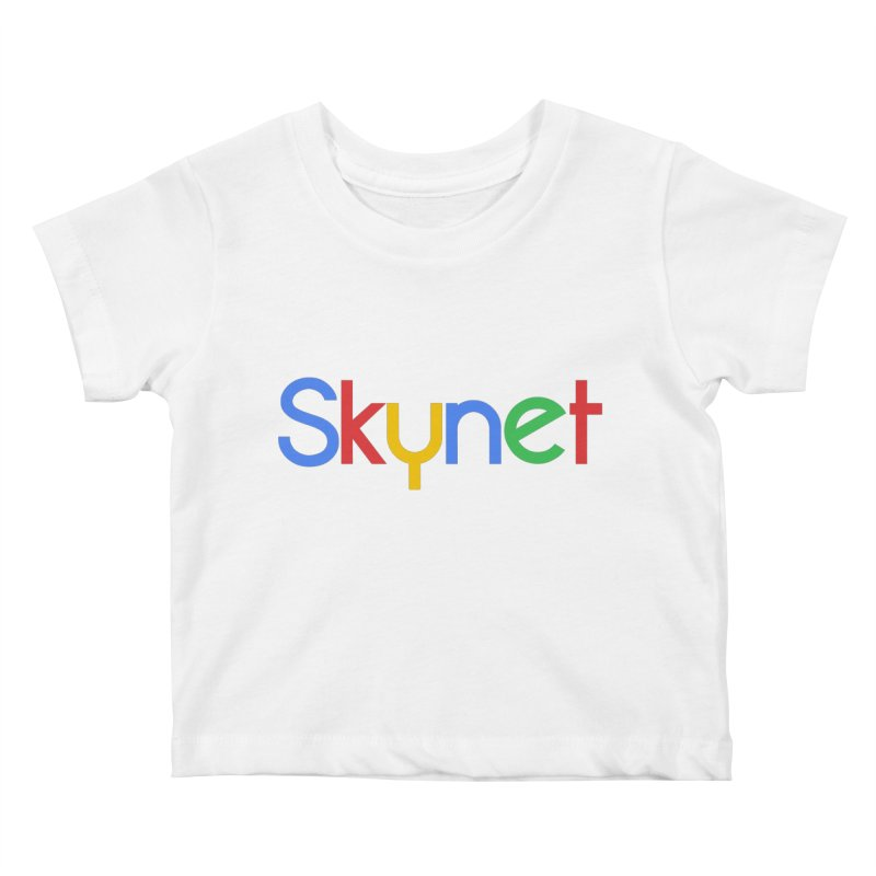 Skynet Kids Baby T-Shirt by ouno