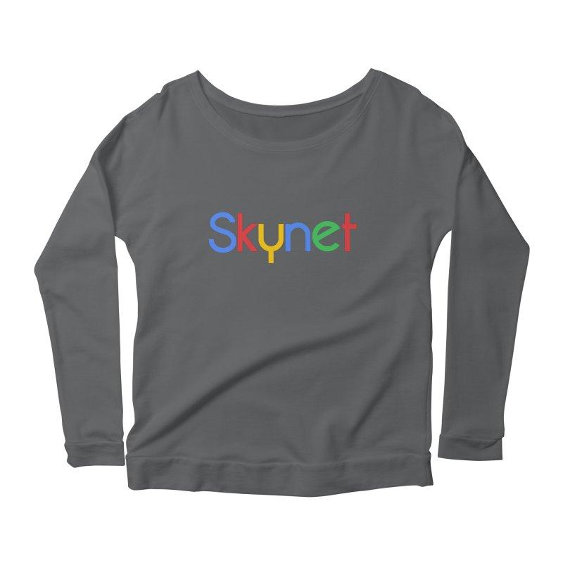 Skynet Women's Longsleeve Scoopneck  by ouno