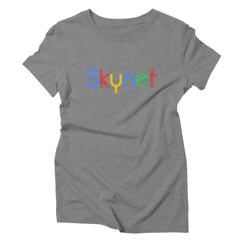 Skynet Women's Triblend T-Shirt by ouno