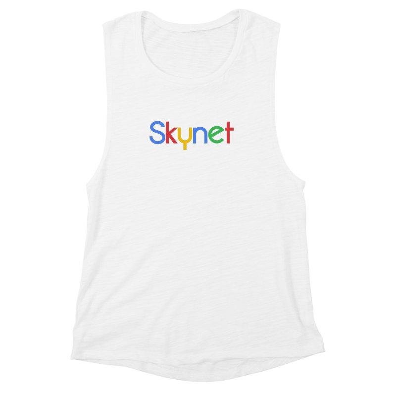 Skynet Women's Muscle Tank by ouno