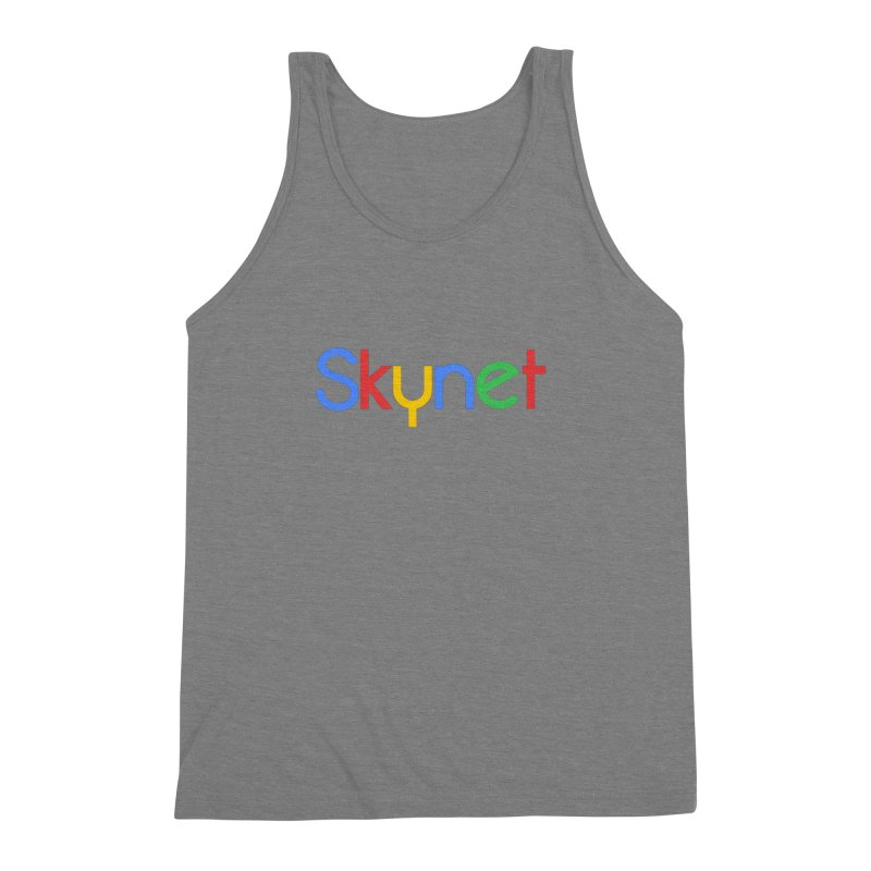 Skynet Men's Triblend Tank by ouno