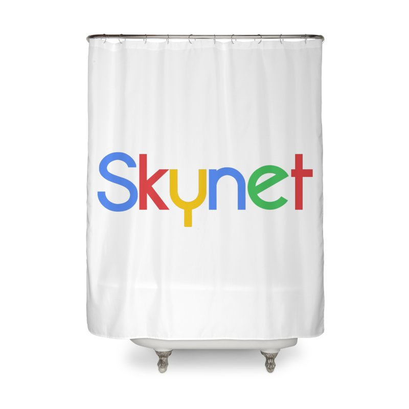 Skynet Home Shower Curtain by ouno