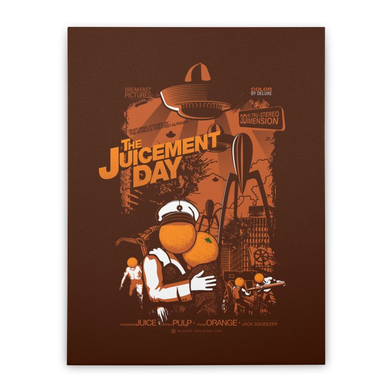 The Juicement Day Home Stretched Canvas by ouno