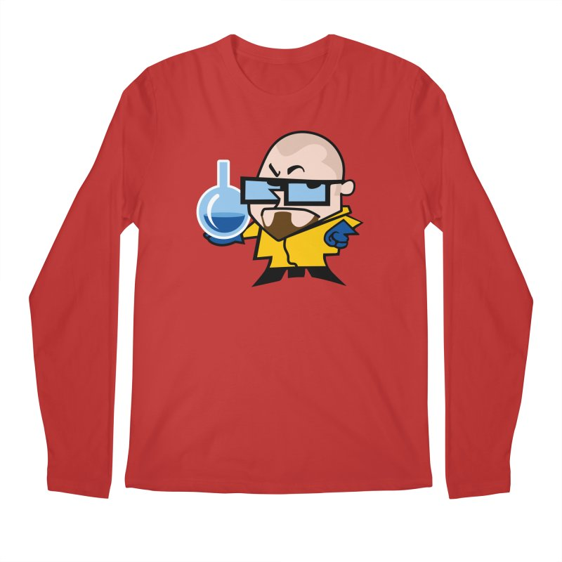 Dexter White Men's Longsleeve T-Shirt by ouno