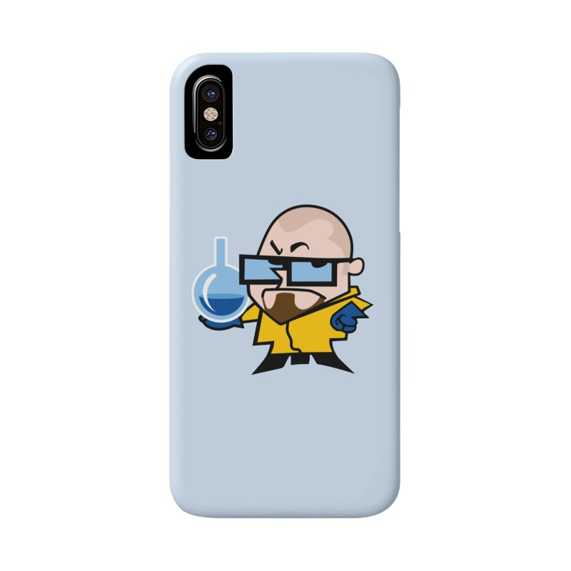 Dexter White Accessories Phone Case by ouno