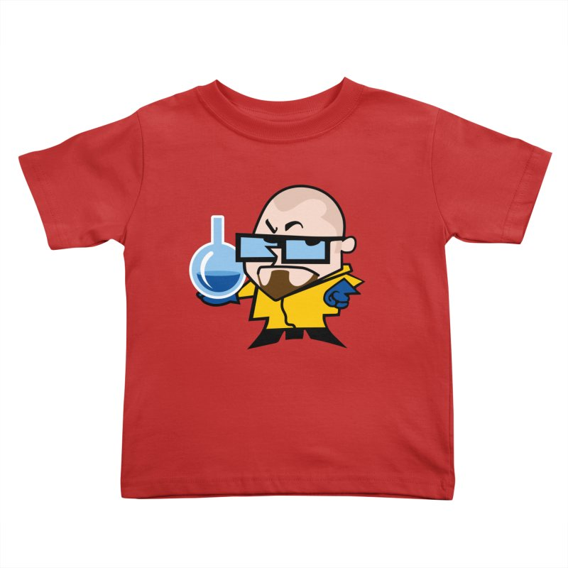 Dexter White Kids Toddler T-Shirt by ouno