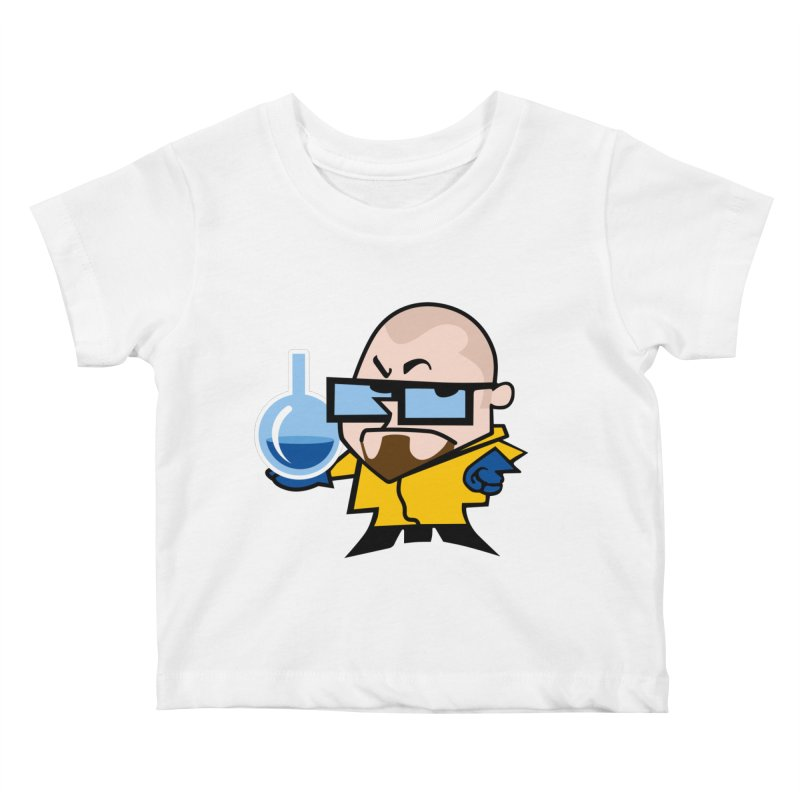 Dexter White Kids Baby T-Shirt by ouno