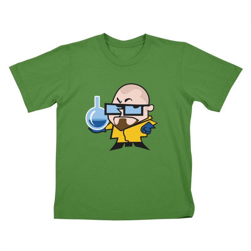 Dexter White Kids T-Shirt by ouno