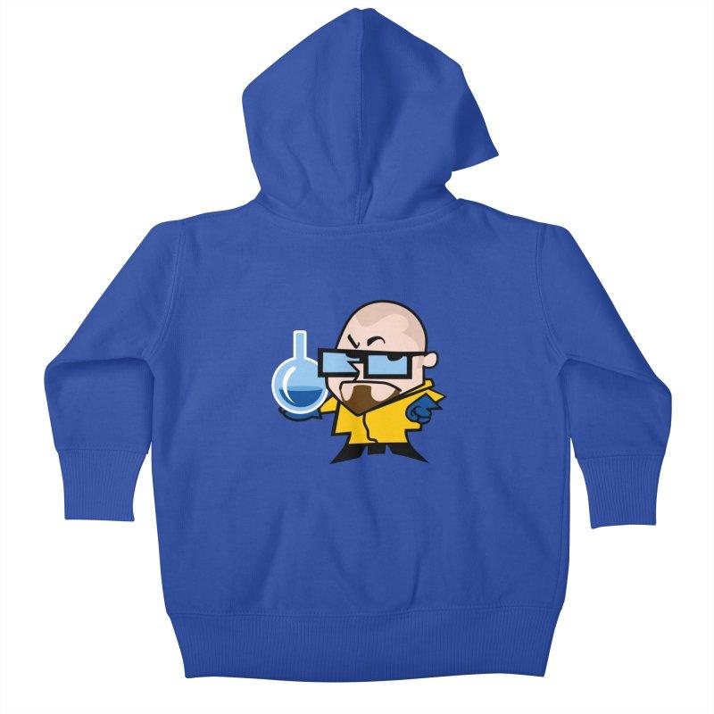 Dexter White Kids Baby Zip-Up Hoody by ouno