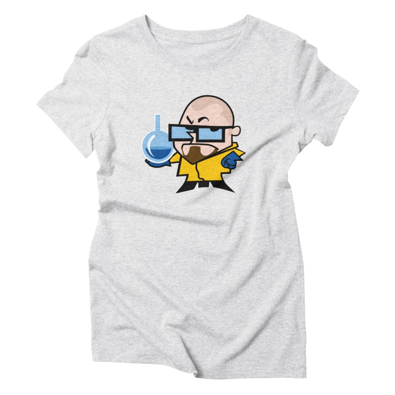 Dexter White Women's Triblend T-Shirt by ouno