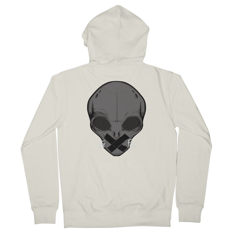 Restricted Information Men's Zip-Up Hoody by ouno