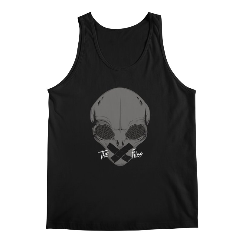 Restricted Information Men's Tank by ouno
