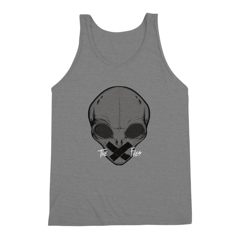 Restricted Information Men's Triblend Tank by ouno