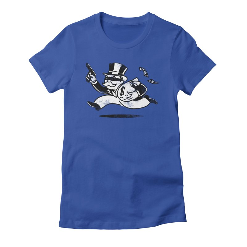 The Last Move Women's Fitted T-Shirt by ouno