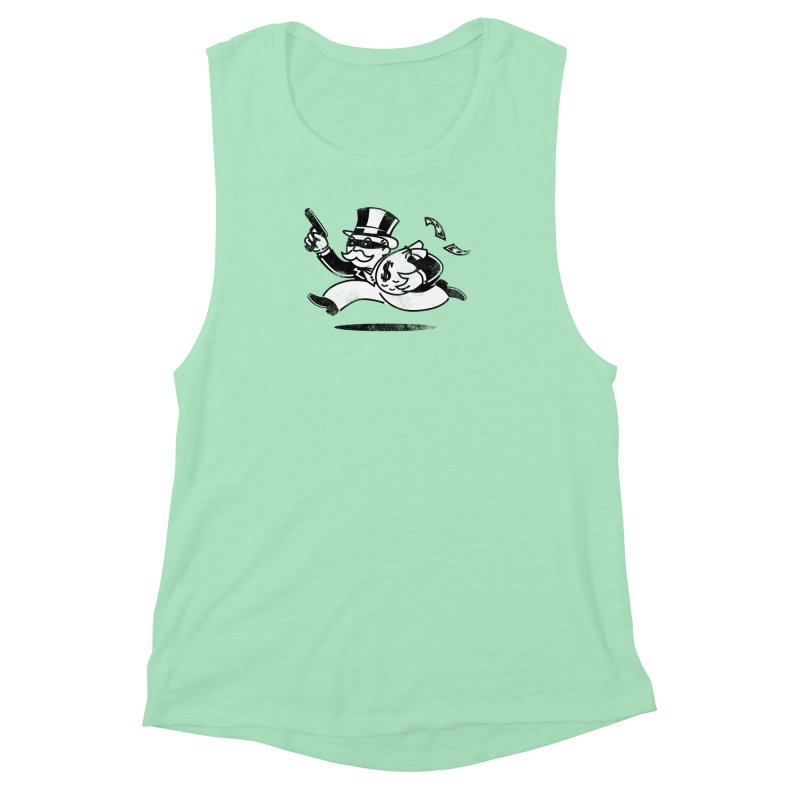 The Last Move Women's Muscle Tank by ouno