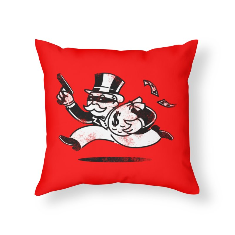 The Last Move Home Throw Pillow by ouno