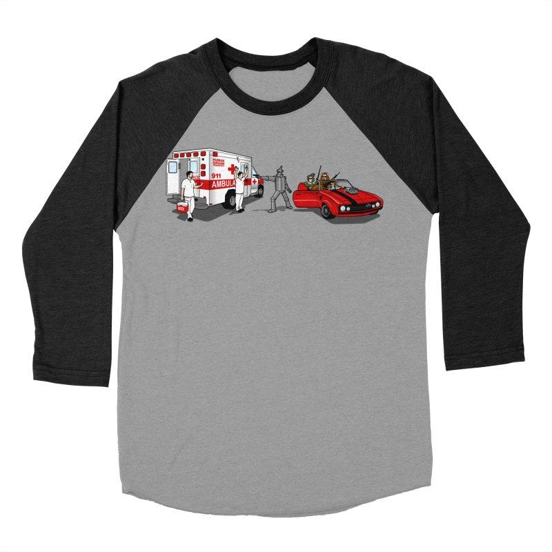 Heartless Men's Baseball Triblend T-Shirt by ouno