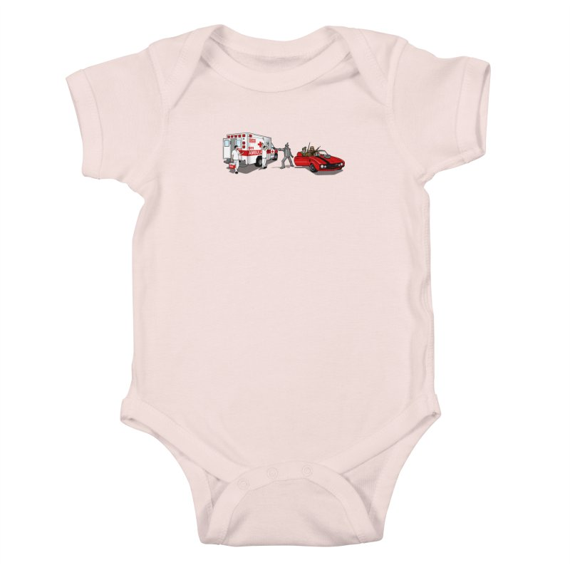 Heartless Kids Baby Bodysuit by ouno