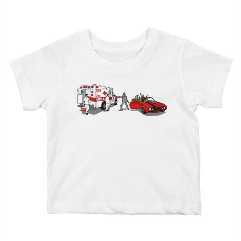 Heartless Kids Baby T-Shirt by ouno