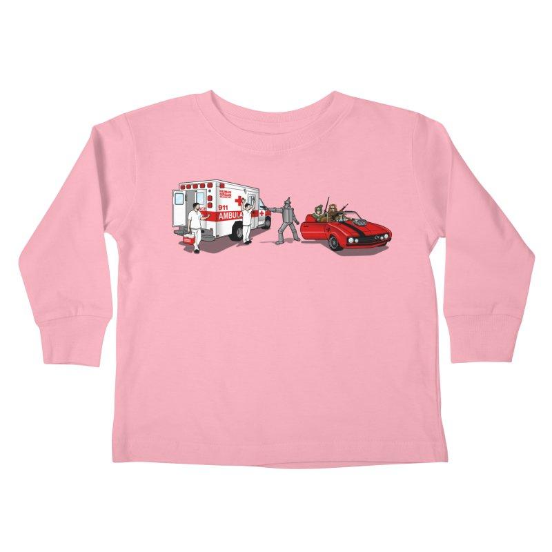 Heartless Kids Toddler Longsleeve T-Shirt by ouno