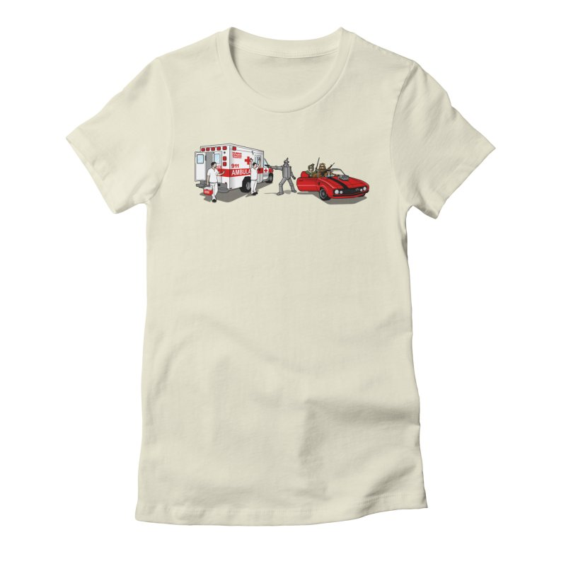 Heartless Women's Fitted T-Shirt by ouno