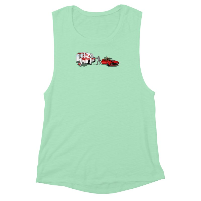 Heartless Women's Muscle Tank by ouno