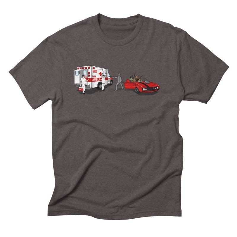 Heartless Men's Triblend T-Shirt by ouno