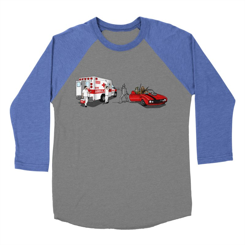 Heartless Women's Baseball Triblend T-Shirt by ouno