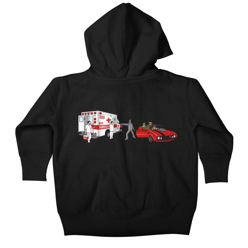 Heartless Kids Baby Zip-Up Hoody by ouno