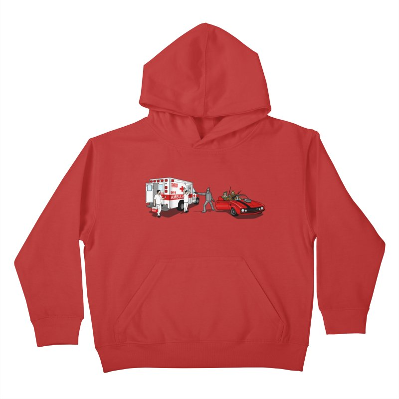 Heartless Kids Pullover Hoody by ouno