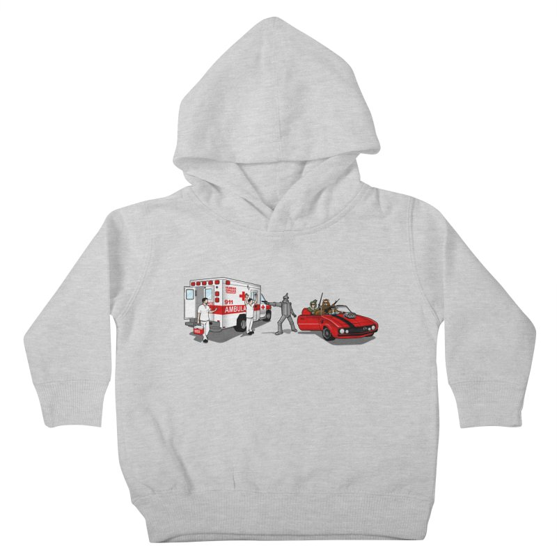 Heartless Kids Toddler Pullover Hoody by ouno