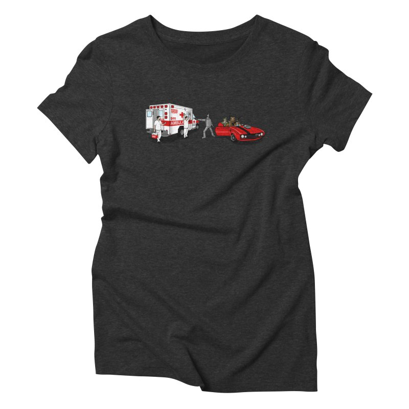 Heartless Women's Triblend T-Shirt by ouno