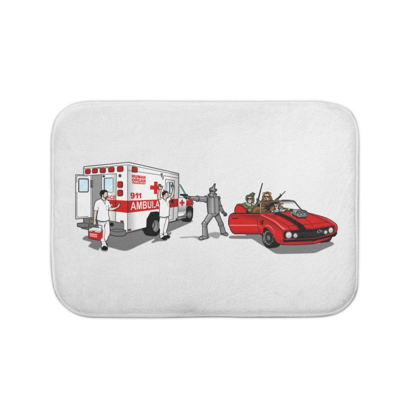 Heartless Home Bath Mat by ouno