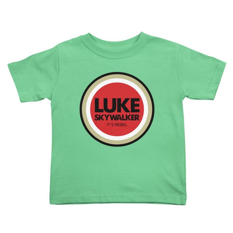 Luke Skywalker Kids Toddler T-Shirt by ouno
